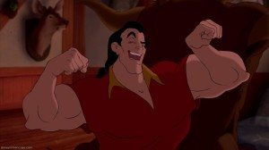 Gaston flexing